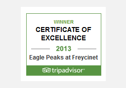 Trip Advisor Awards for Excellence Winner 2013